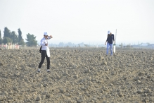 Survey of Ploughed Plots in Medieval Agsu Town and Mehravan Castle